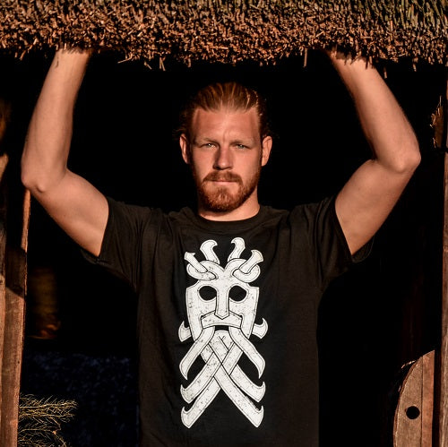 Viking Design Wolf T-Shirt
