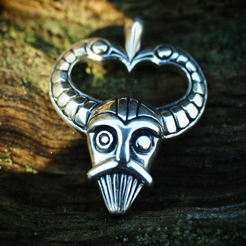 Mask Of Odin Pendant