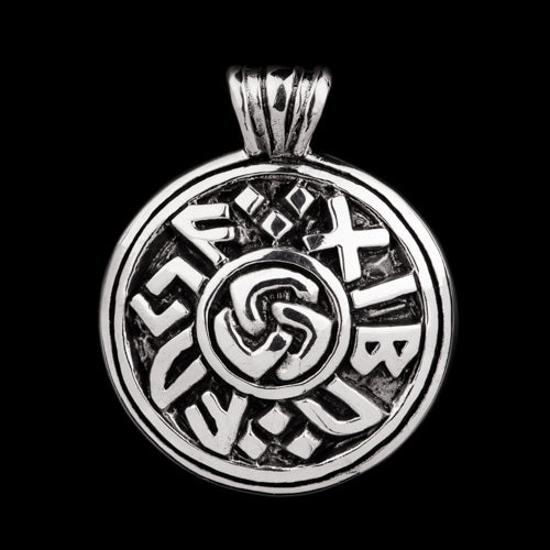 Viking Runic Luck Pendant