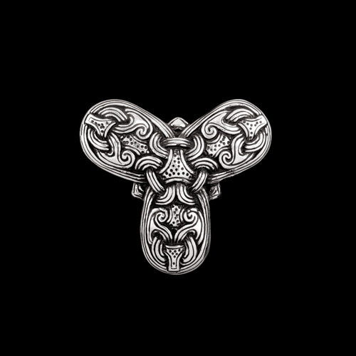 Trefoil Brooch with Borre Style Knotwork
