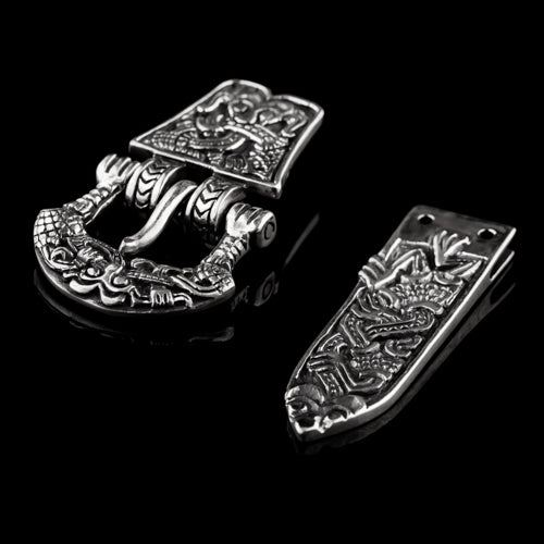 Gripping Beast Buckle Set from Birka