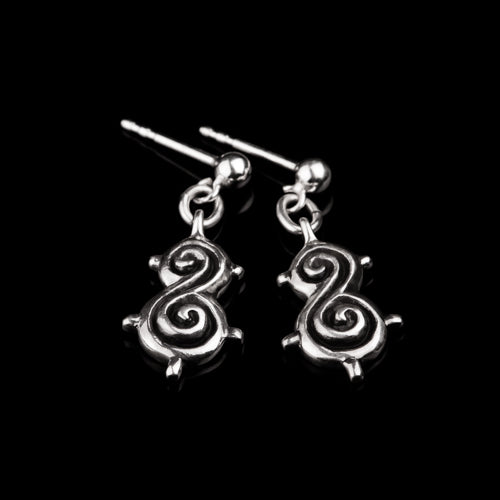 Viking Spiral Earrings