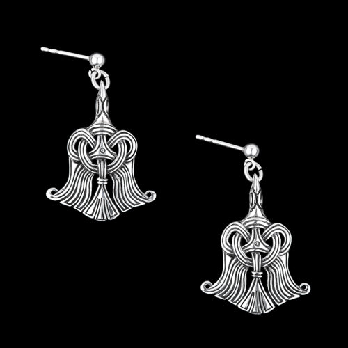Viking Raven Earrings