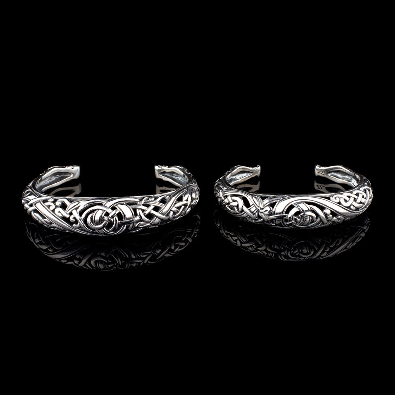 Viking Dragon Bracelet In Urnes Style