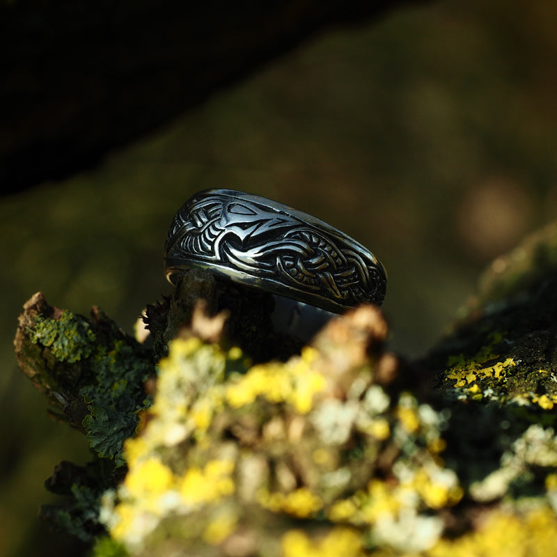 Viking Dragon Ring