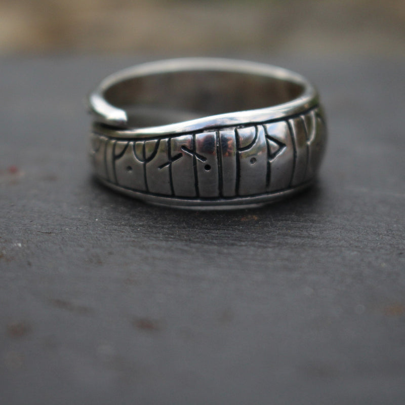 Viking Love Rune Ring