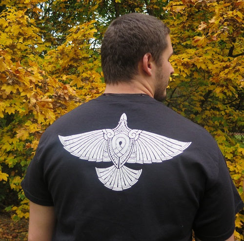 Viking T-Shirt with Raven
