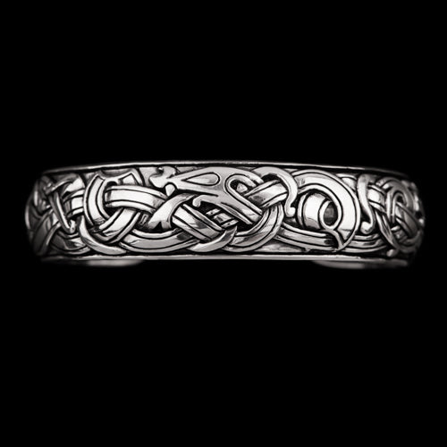 Viking Dragon Armring in Ringerike Style