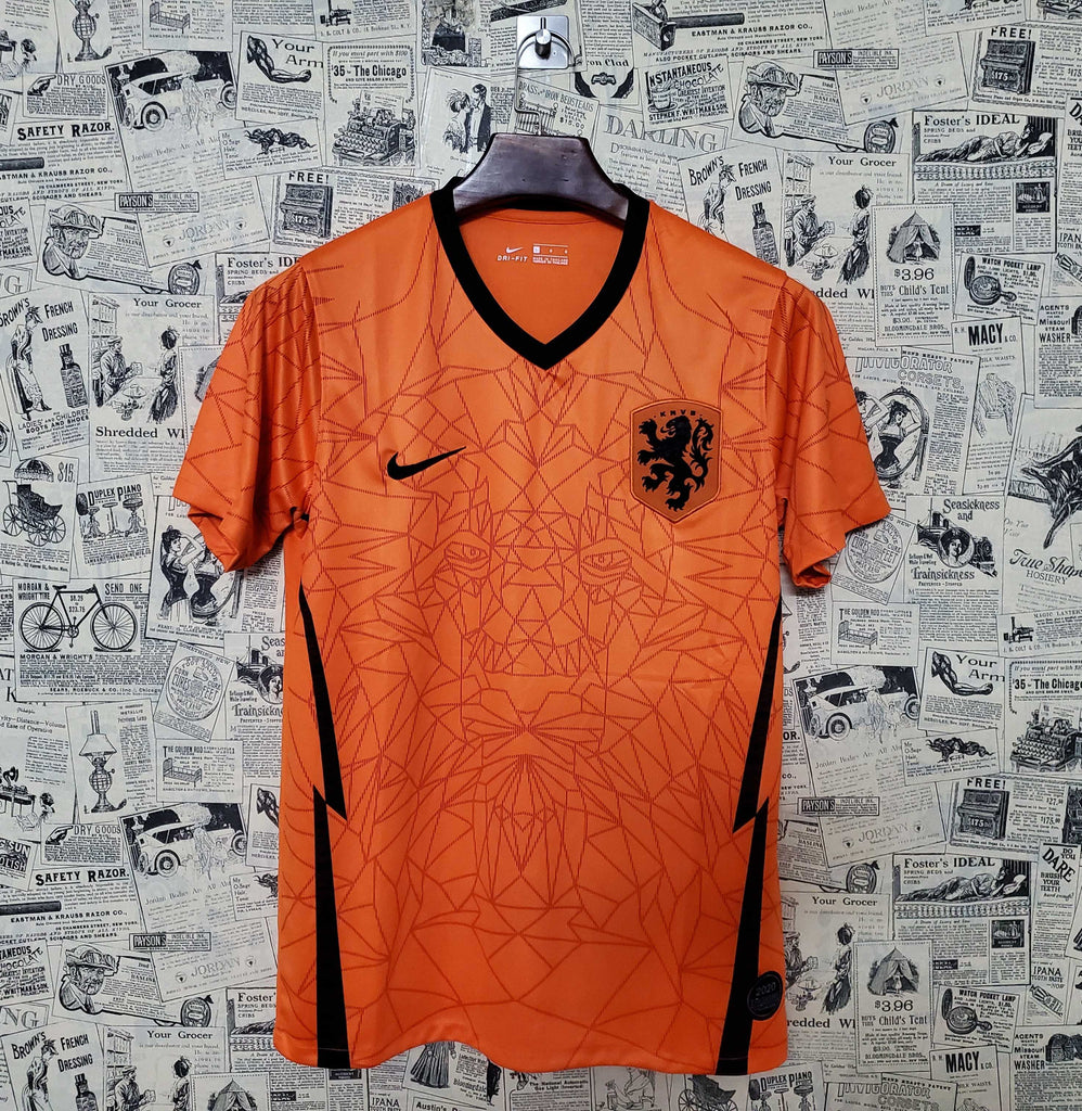 Netherlands National Team Jersey Home-EURO CUP 2020
