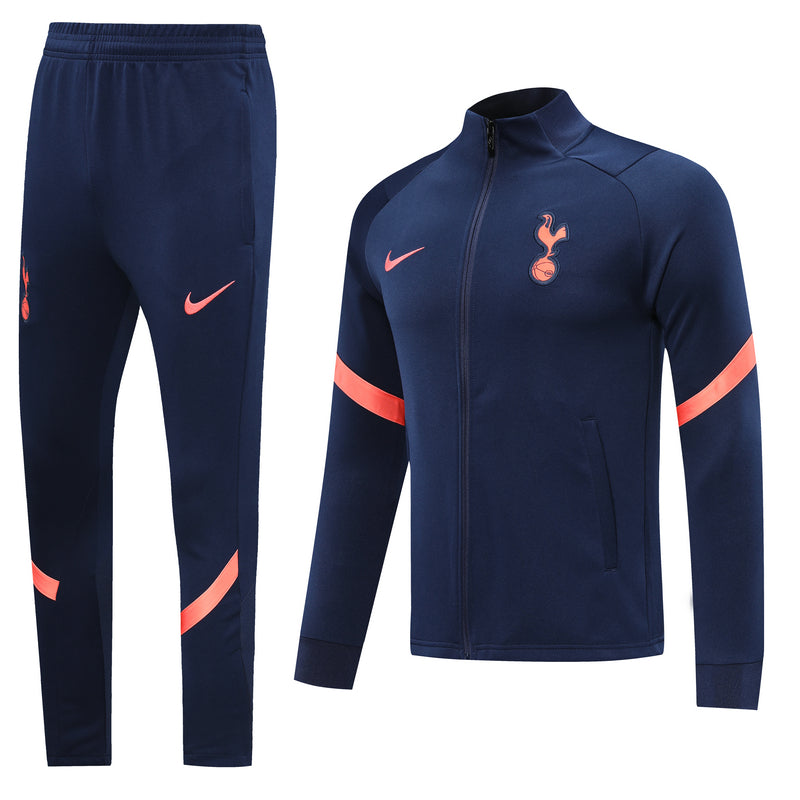 Tottenham Hotspur Dark Blue and Orange Training Suit 20 21 Season