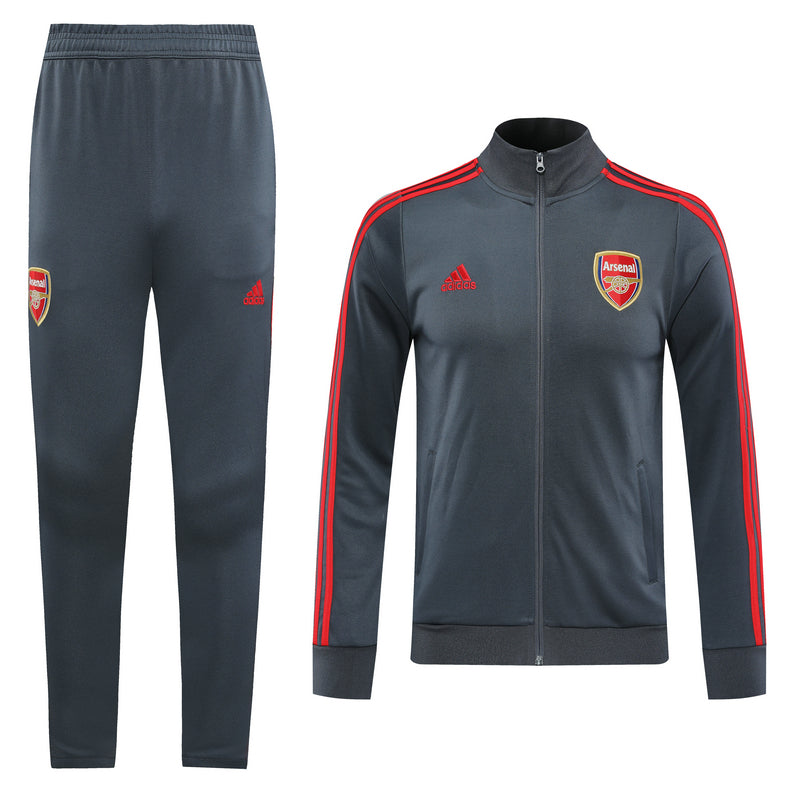 Arsenal Grey Training Suit 20 21 Season