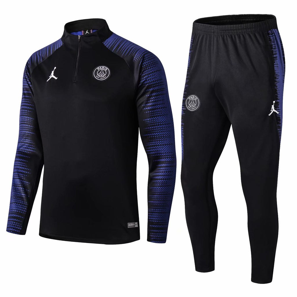 PSG Jordan Dark Blue Training Suit 19 20 Season