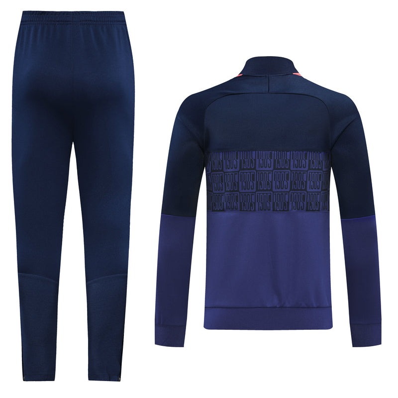 Chelsea Dark Blue Training Suit 20 21 Season