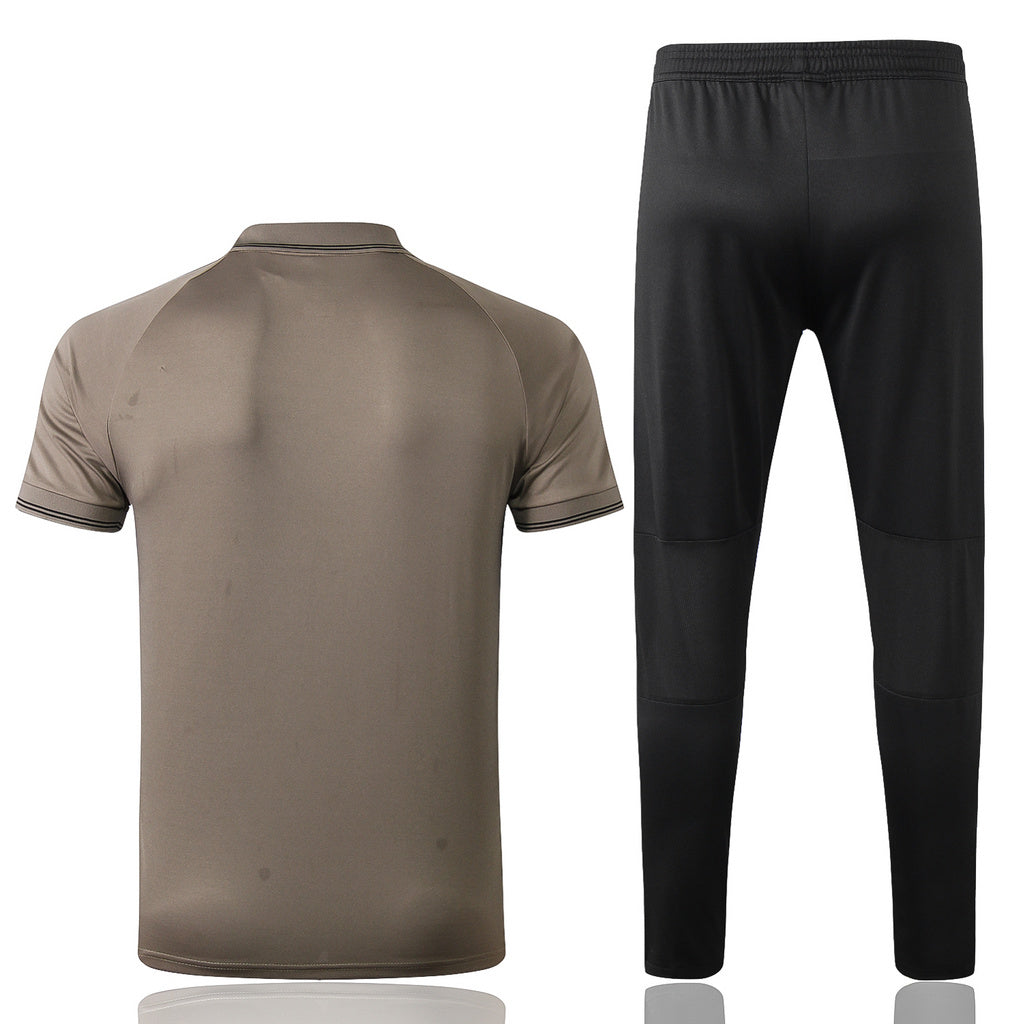 Juventus Khaki POLO Training Suit 19 20 Season