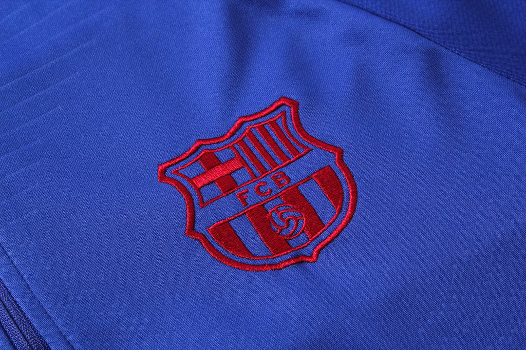 Barcelona Blue Training Suit 19 20 Season