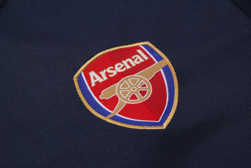 Arsenal Dark Blue Training Suit 19 20 Season