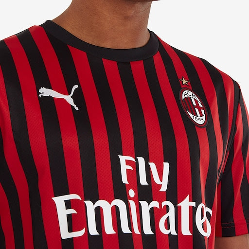 AC Milan Football Jersey Home 19 20 Season