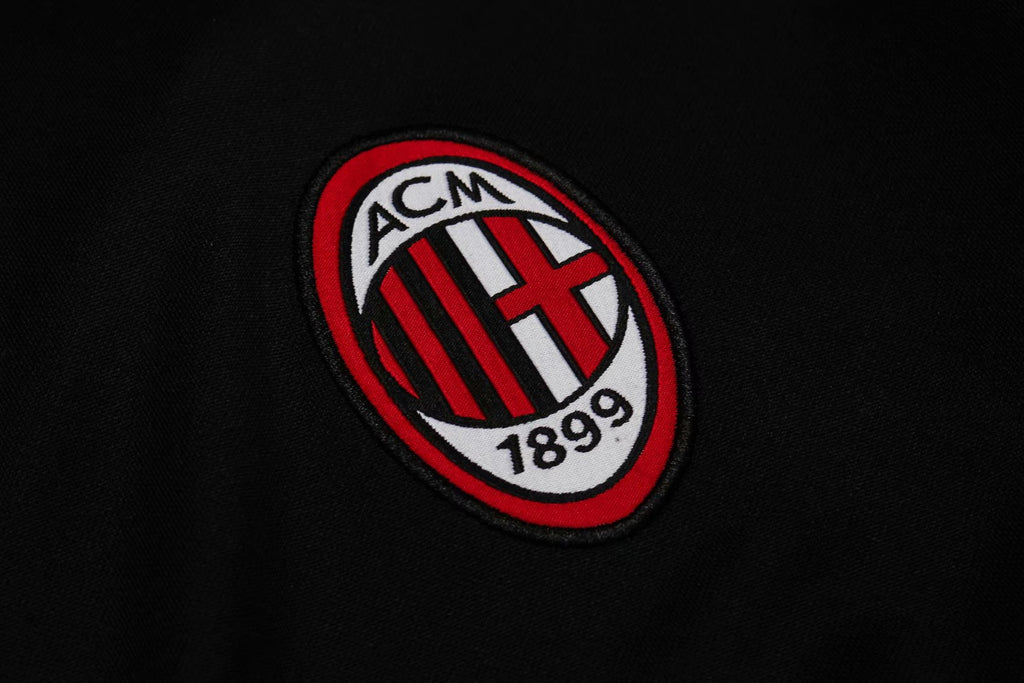 AC Milan Black Training Suit 19 20 Season