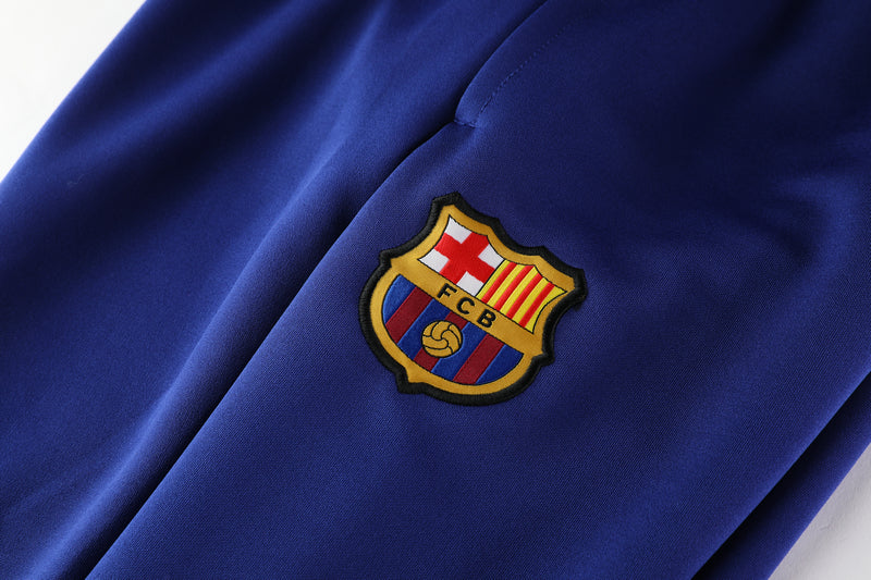 Barcelona Maroon and Blue Training Suit 20 21 Season