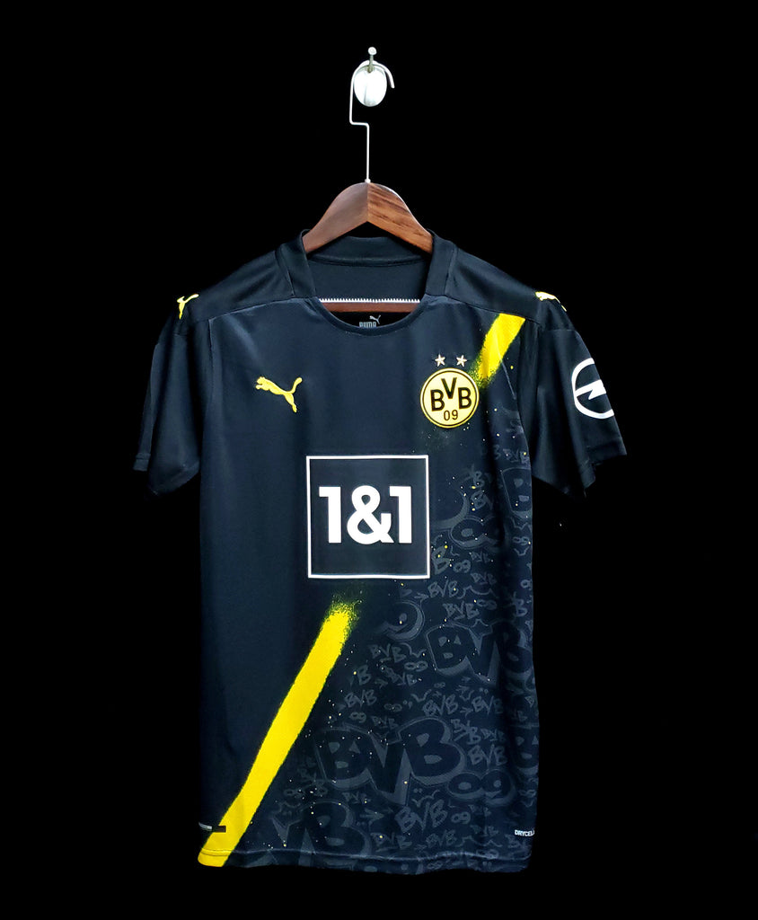 Borussia Dortmund Football Jersey Away 20 21 Season