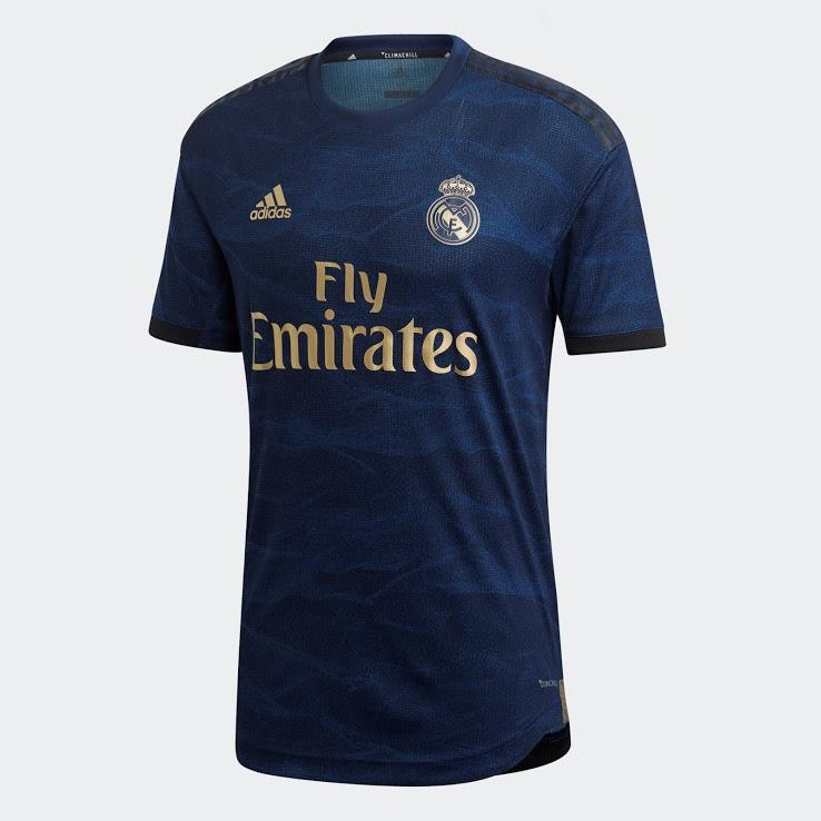 Real Madrid Football Jersey Away 19 20 Season