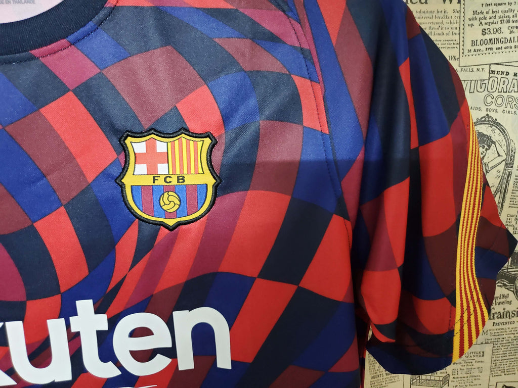 Barcelona Training Jersey 20 21 Season
