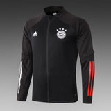 Bayern Munich Black Winter Jacket 20 21 Season