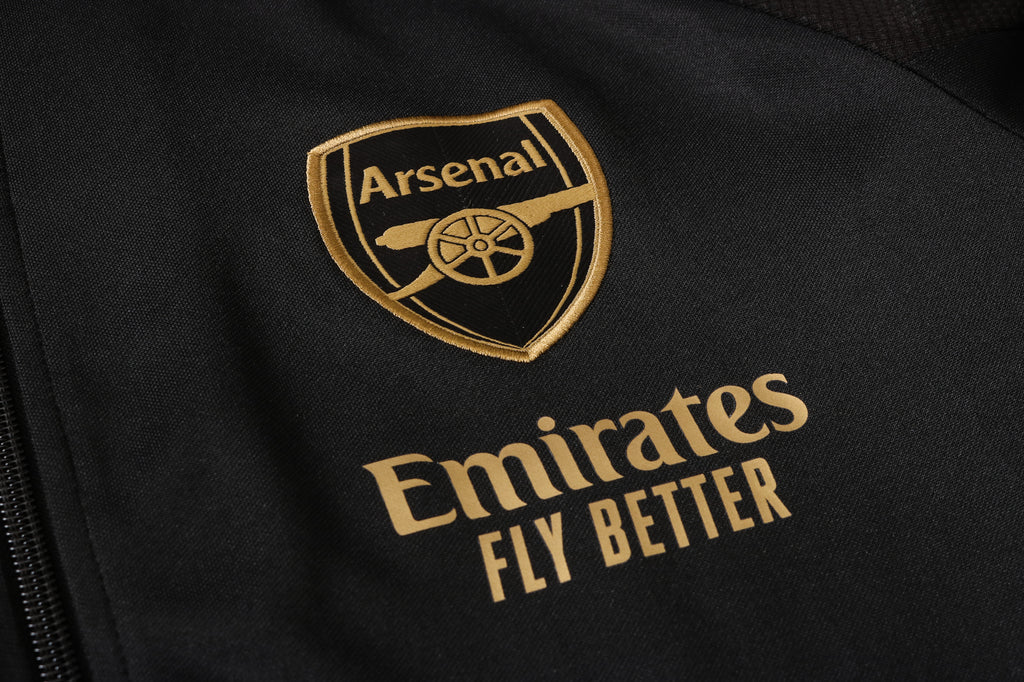 Arsenal Black Winter Jacket 20 21 Season