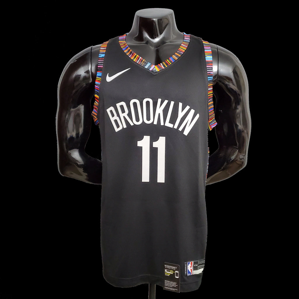 Brooklyn Nets Kyrie Irving 11 City Edition Black NBA Jersey