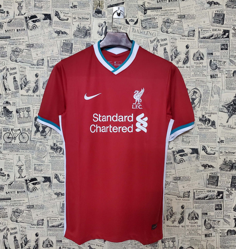 Liverpool Football Jersey Home 20 21 Season