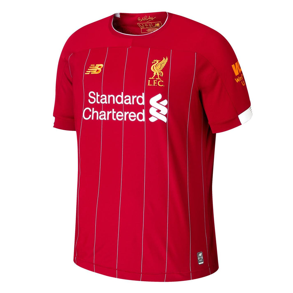 Liverpool Football Jersey Home 19 20 Season