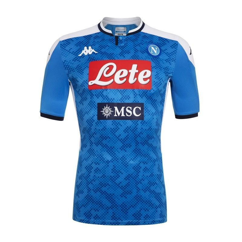 Napoli Football Jersey Home 19 20 Season Jersey_NS sportifynow