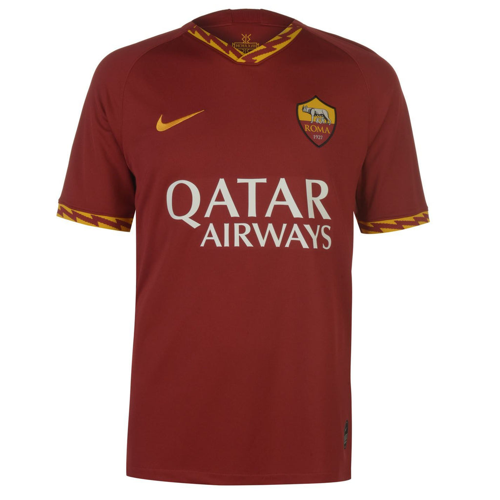 Roma Football Jersey Home 19 20 Season