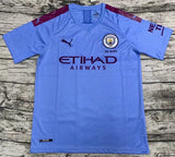 Manchester City Football Jersey Home 19 20 Season