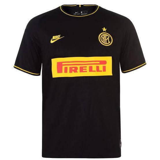 Inter Milan Football Jersey Third 19 20 Season