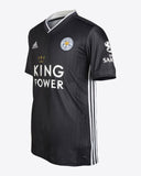 Leicester City Black Football Jersey Away 19 20 Season