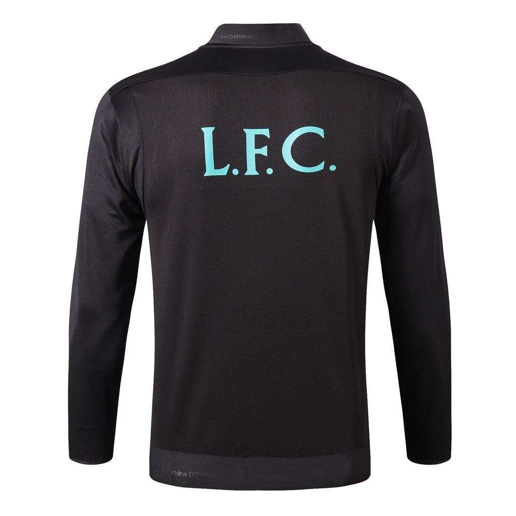 Liverpool Winter Jacket Black 19 20 Season Sweater sportifynow