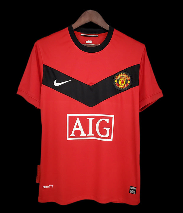 Manchester United 2009-10 Home Retro Jersey