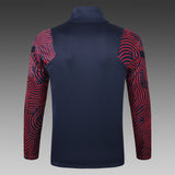 PSG Navy Blue Winter Jacket 20 21 Season