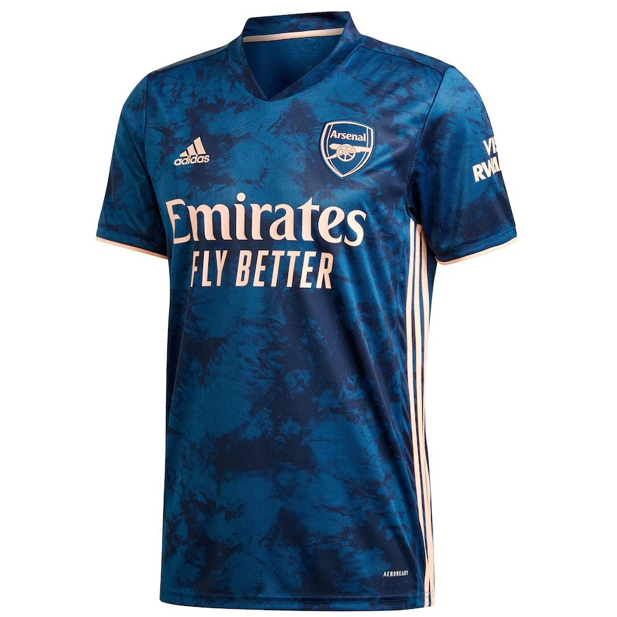 Arsenal Football Jersey Third 20 21 Season
