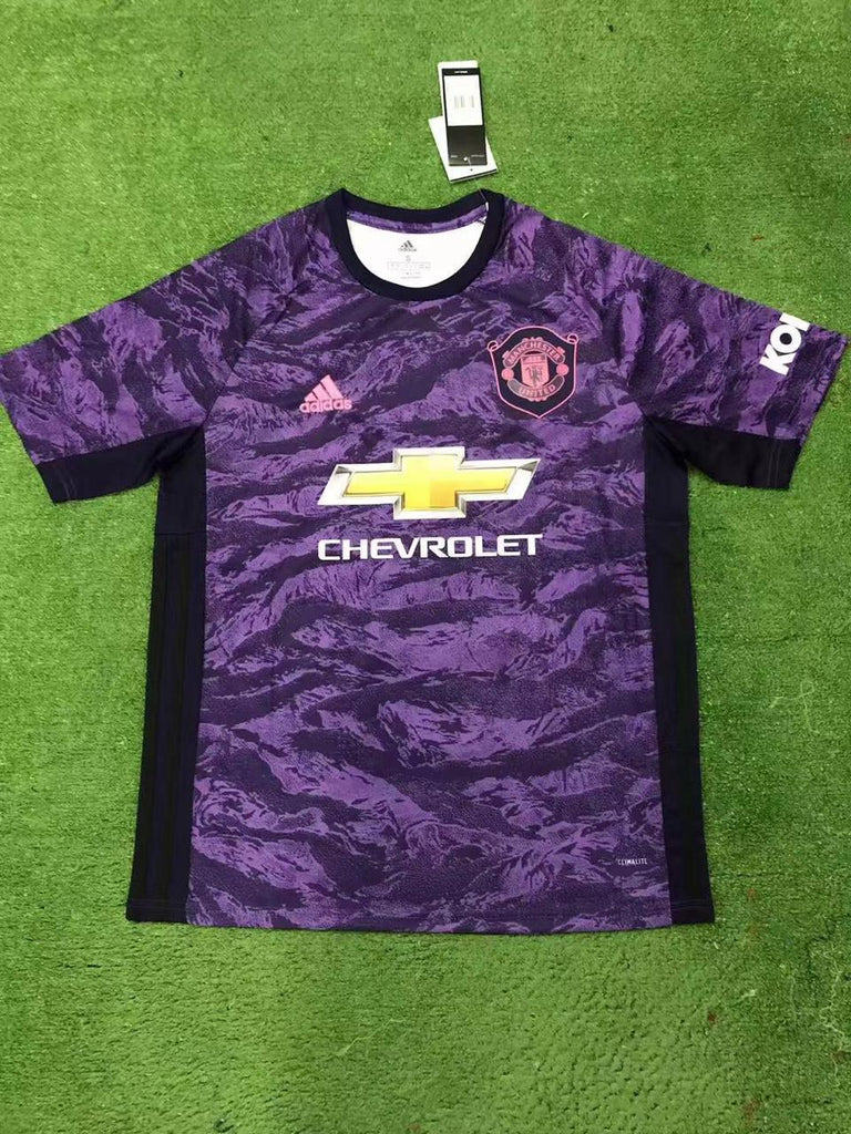 Manchester United Goal Keeper Jersey 19 20 Season