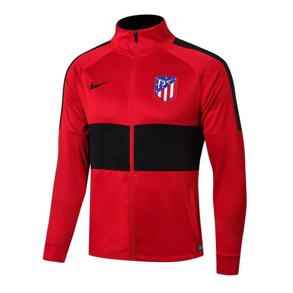 Atletico Madrid Red and Black Winter Jacket 19 20 Season