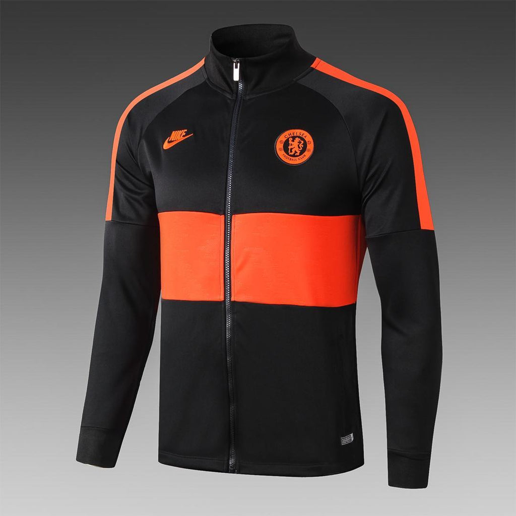 Chelsea Black and Orange Winter Jacket 19 20 Season