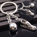Fanaccs Soccer Shoes Football Stainless Steel Metal Keychain