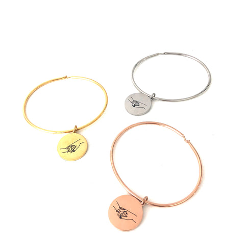 Mother & Child Bangle