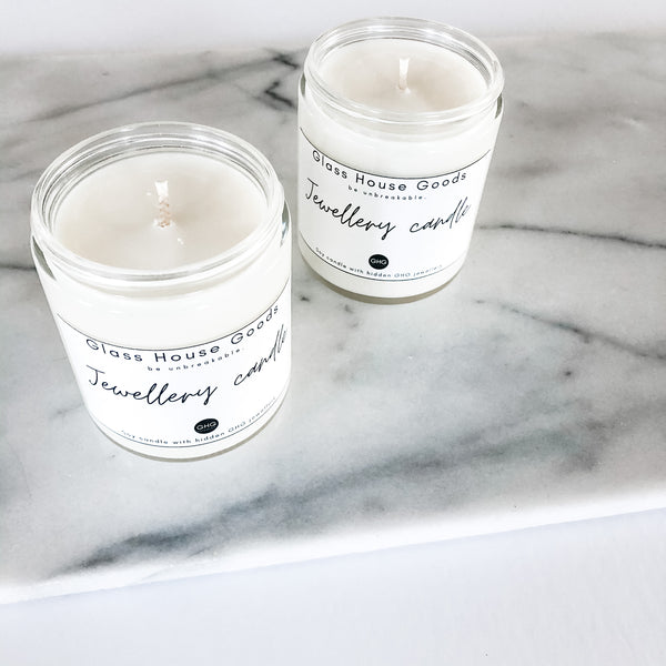 Last Minute Gift Jewellery Candle