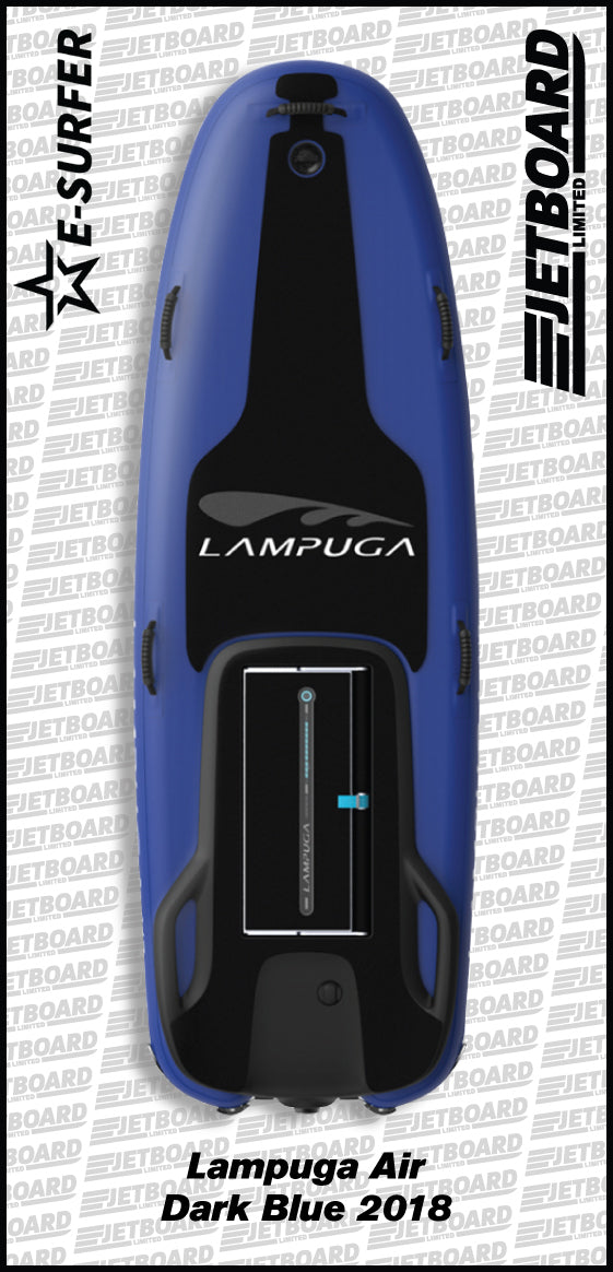 Lampuga Air 2018 electric surfboard for sale in navy