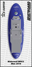 Waterwolf MPX-3 electric surfboard for sale in blue