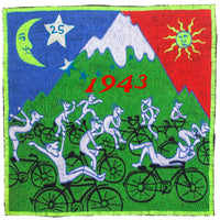 Hofmann Bicycle Day Party Patch Psychedelic Hippie Leary Albert Hofmann discovery of LSD vintage artwork