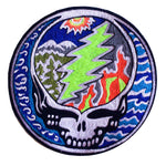 Grateful Dead Winterland Patch LSD music psychedelic skull